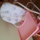 Продам детскую кроватку, стульчик для кормления