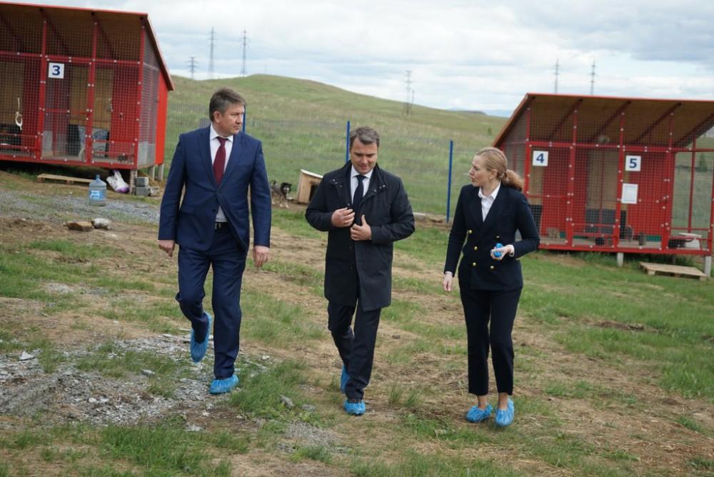 В Сатке побывал главный федеральный инспектор по Челябинской области