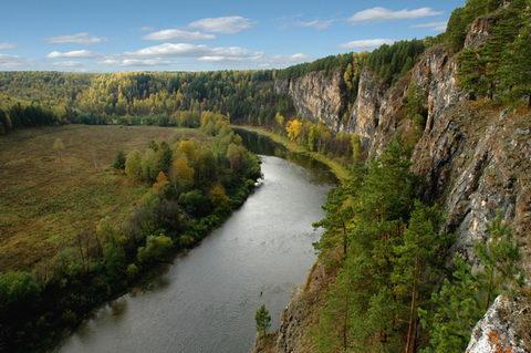 Межевой, река Ай